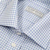 Small Gingham Shirt - Sky