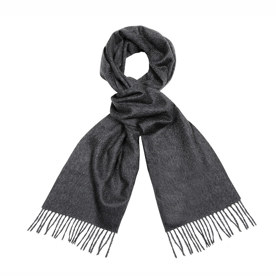 Cashmere Scarf - Charcoal