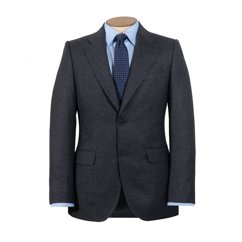 Brompton Suit - Grey Flannel