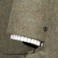 Nehru Country Jacket - Teviot Tweed