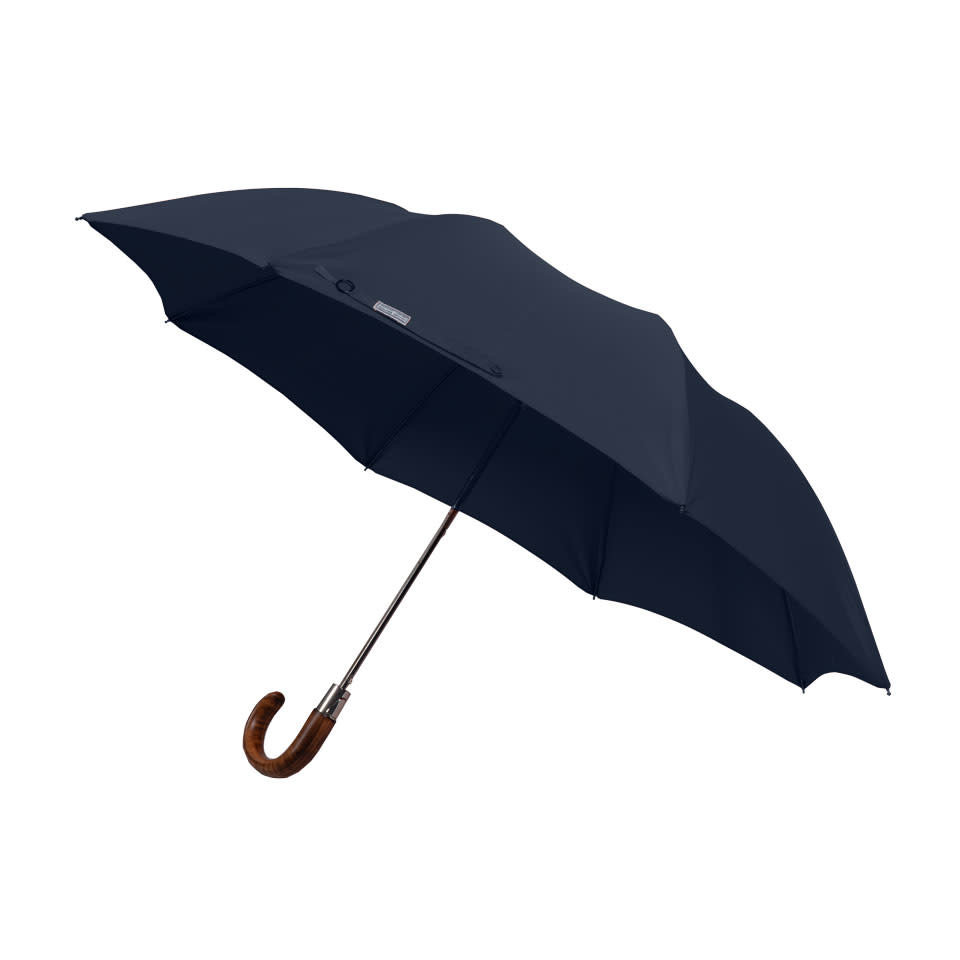 Folding Umbrella Maple - Navy
