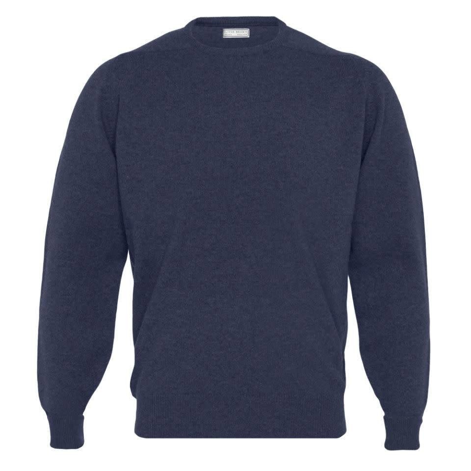 Cashmere Crew Neck Jumpers - Cosmos