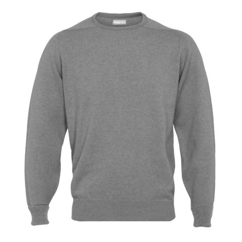 Cashmere Crew Neck Jumpers - Flannel