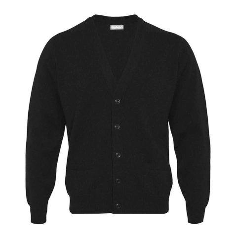 Cashmere Cardigan - Black