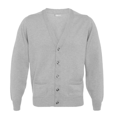 Cashmere Cardigan - Grey