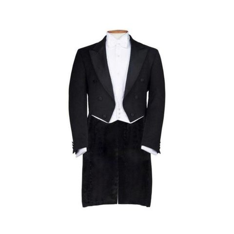 White Tie (Evening Tails) Suit Hire
