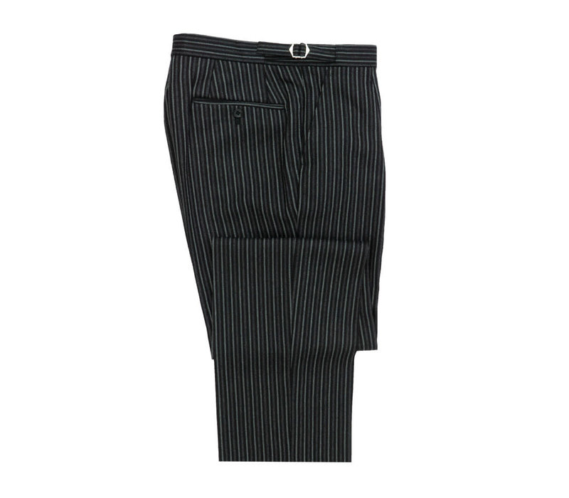 Ex-Rental Striped Morning Trousers