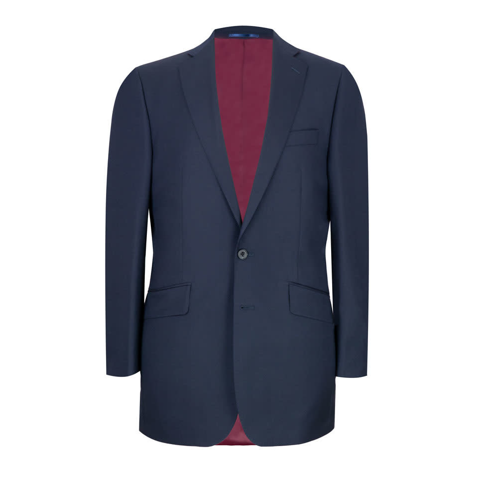 Eaton Suit - Navy Hopsack