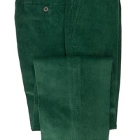 Needlecord Trousers - Bottle Green