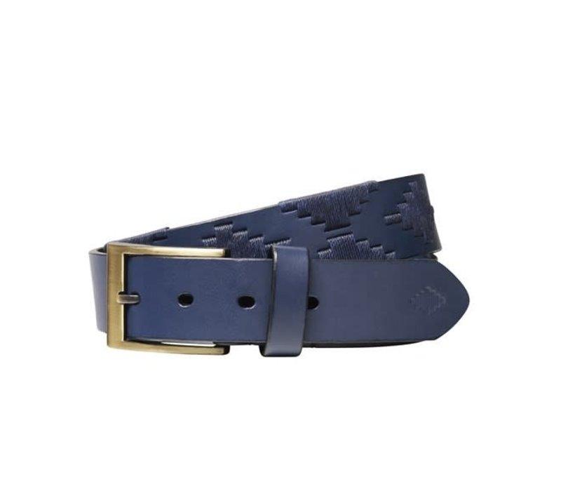 Pampeano Polo Belt, Marino