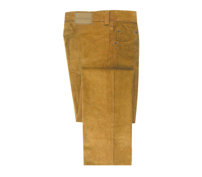 Needlecord Jeans - Mustard