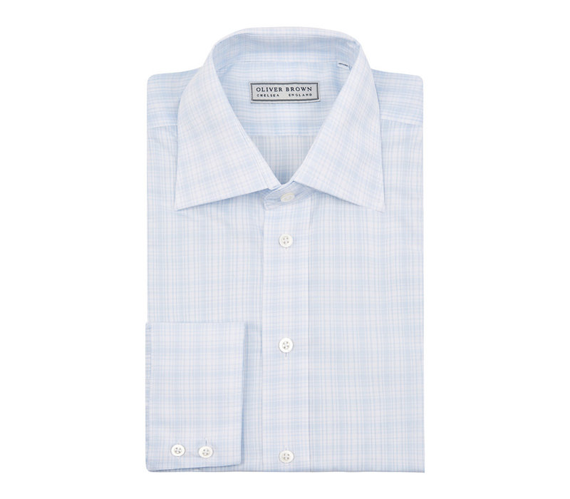 Checked City Shirt - Sky