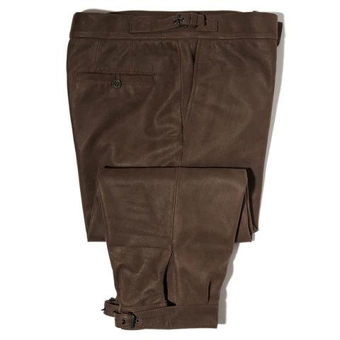Leather Breeks - Brown