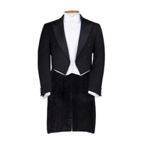 Ex-Rental White Tie Jacket