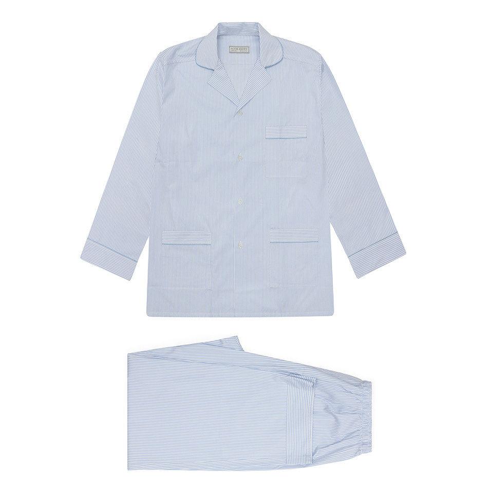 Pyjamas Blue stripes