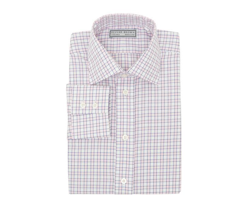 Checked City Shirt - Pink