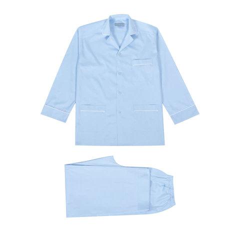 Pyjamas Plain Blue
