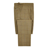 Pleated Trousers - Leith Tweed