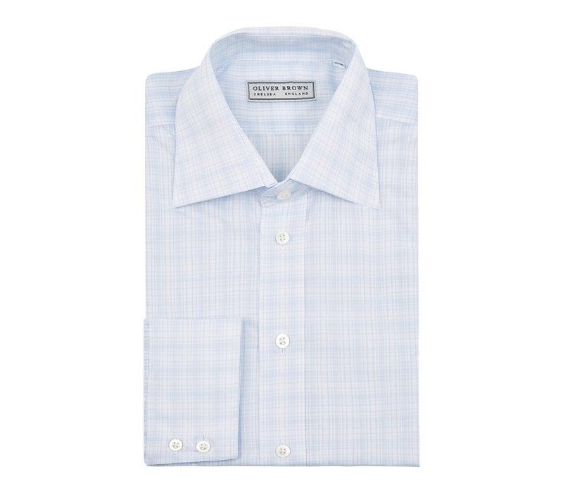 Checked City Shirt - Sky