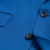Unlined Eaton Jacket - Royal Blue Mesh