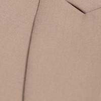 Double Breasted Wool Waistcoat - Buff