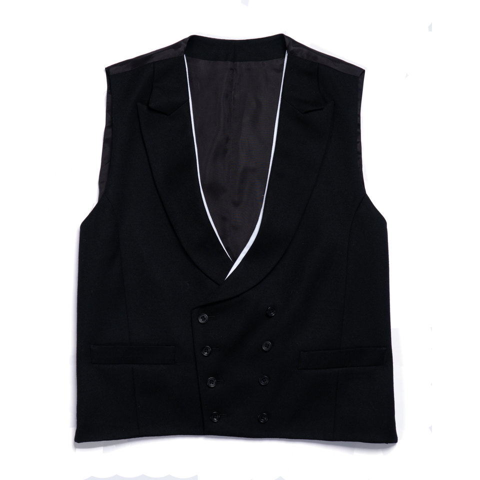 Double Breasted Morning Waistcoat