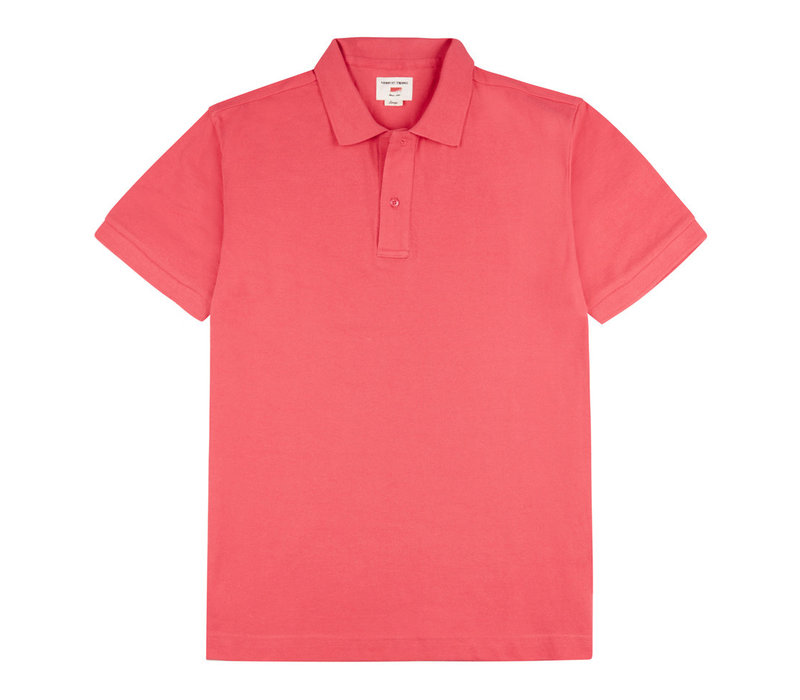 Polo Shirt, Pique - Pink