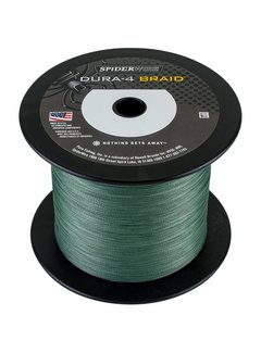 SPIDERWIRE SPIDERWIRE Dura4 Braid Green 1800m (0.10mm - 0.40mm)