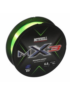 Mitchell MITCHELL MX3 High Vis 150m (0.14mm)