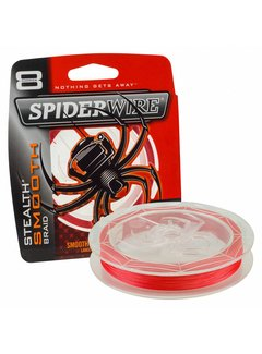 SPIDERWIRE SPIDERWIRE Stealth Smooth 8 Red 150m (0.06mm - 0.30mm)