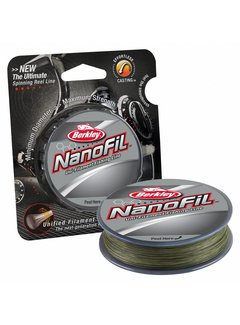 Berkley BERKLEY Nanofil™ Low Vis Green 270m (0.10mm - 0.28mm)