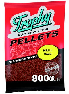 Trophy Baits TROPHY Red Krill Pellets