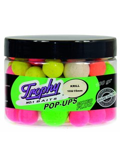 Trophy Baits TROPHY Pop-Up Krill 10-15mm