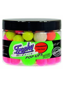 Trophy Baits TROPHY Pop-Up Strawberry 10-15mm