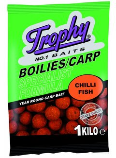 Trophy Baits TROPHY Boilies 1kg/20mm Chili Fish