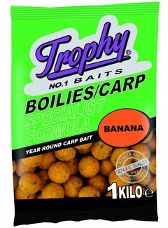 Trophy Baits TROPHY Boilies 1kg/15mm Banana