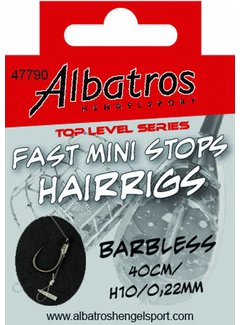 Albatros ALBATROS Toplevel Fast Mini Stops Barbless 40cm (6st)