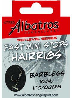 Albatros ALBATROS Toplevel Fast Mini Stops Barbless 10cm (6st)