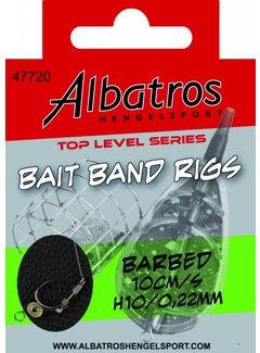 Albatros Hengelsport ALBATROS Toplevel Baitband Rig Small 10cm (8st)