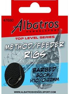 Albatros Hengelsport ALBATROS Toplevel Method Rig 60cm (8st)