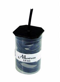 Albatros Hengelsport ALBATROS Silicon Slang Zwart