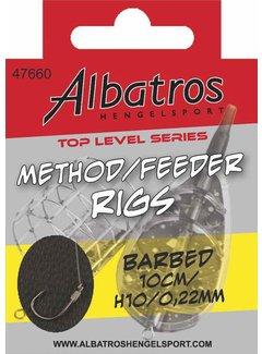Albatros Hengelsport ALBATROS Toplevel Method Rig 10cm (8st)