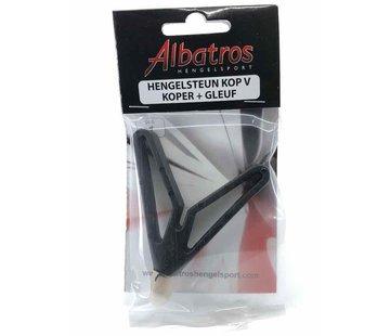 Albatros ALBATROS Hengelsteunkop V-vorm