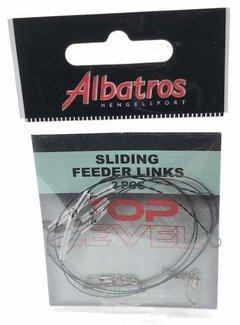 Albatros Hengelsport ALBATROS Toplevel Sliding Tuff Feeder Link (2st)