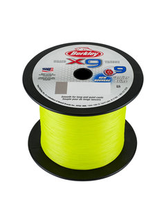 Berkley BERKLEY X9 Fluro Green 2000m (0.06mm - 0.20mm)