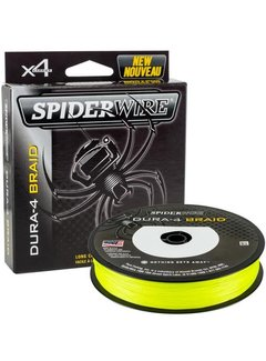 SPIDERWIRE SPIDERWIRE Dura4 Braid Yellow 150m (0.10mm - 0.40mm)