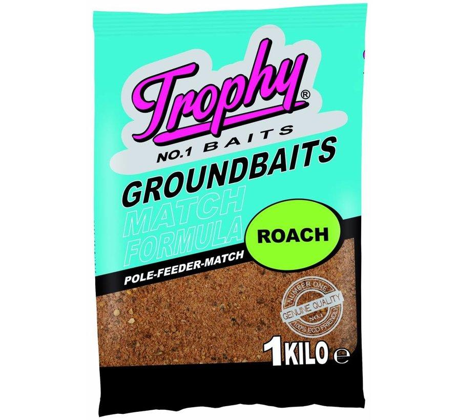 TROPHY Groundbait 1kg - Voorn