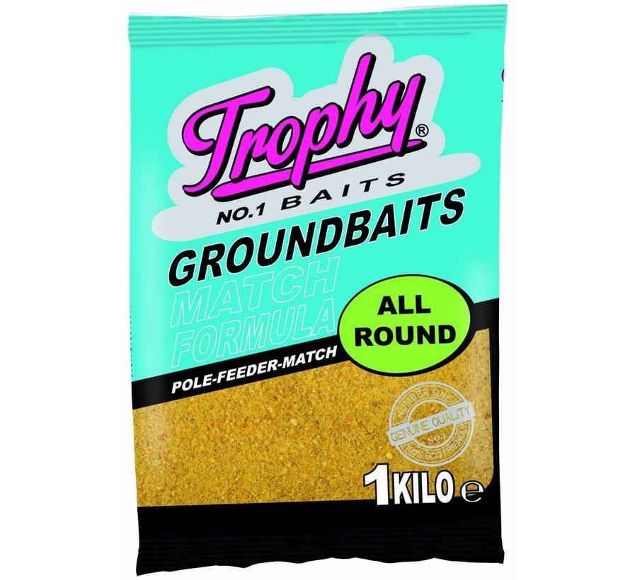TROPHY Groundbait 1kg - Allround