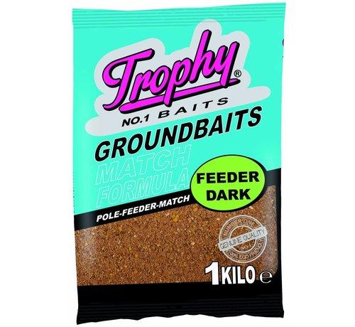 Trophy Baits TROPHY Groundbait 1kg - Feeder dark