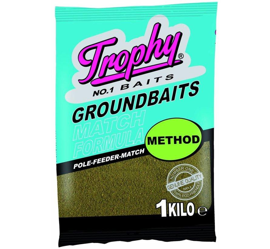 TROPHY Groundbait 1kg - Method feeder